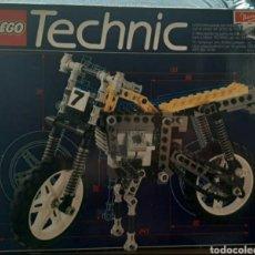 Juegos construcción - Lego: LEGO TECHNIC 8838. AÑO 1991. MOTOCICLETA VINTAGE. Lote 241282060