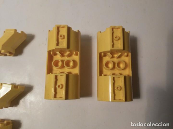 Juegos construcción - Lego: Lote piezas redondas amarillas restos de nave cohete Lego piezas sueltas - Foto 4 - 242193055