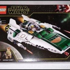 Juegos construcción - Lego: LEGO STAR WARS, RESISTANCE A-WING STARFIGHTER - 75248 - NUEVO Y PRECINTADO EN SU CAJA ORIGINAL.. Lote 242393480
