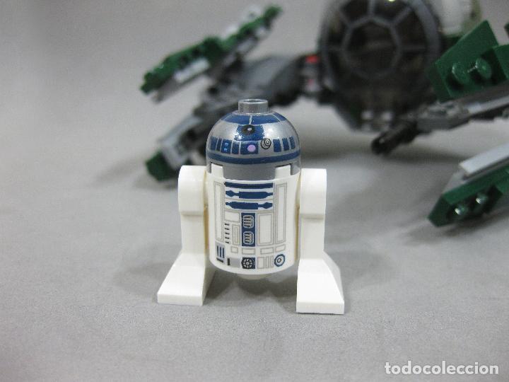 Juegos construcción - Lego: NAVE LEGO 75168 JEDI STARFIGHTER DE YODA CON LA MINIFIGURA DE R2-D2 - STAR WARS - Foto 2 - 242856235