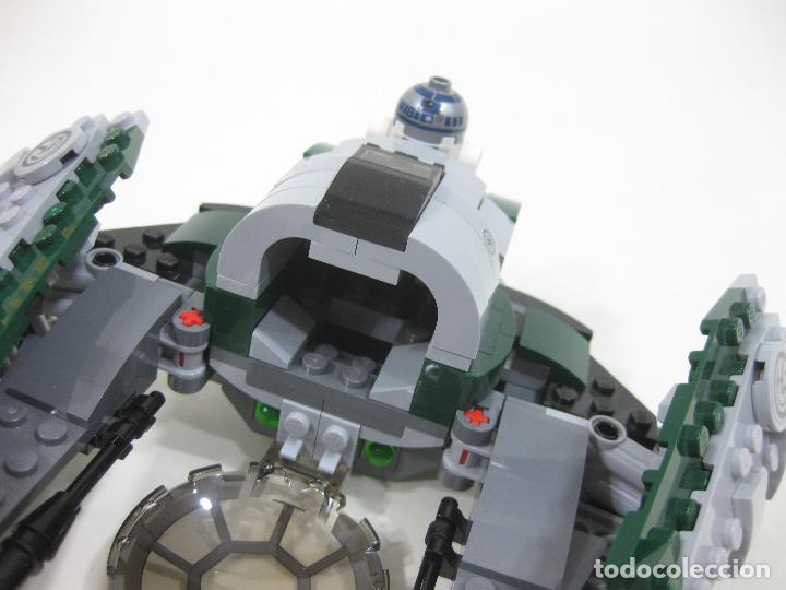 Juegos construcción - Lego: NAVE LEGO 75168 JEDI STARFIGHTER DE YODA CON LA MINIFIGURA DE R2-D2 - STAR WARS - Foto 4 - 242856235