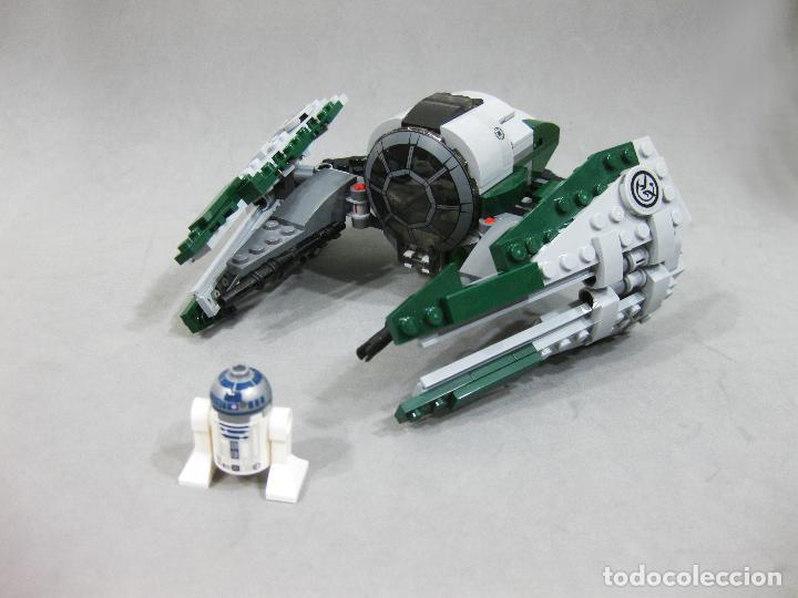 NAVE LEGO 75168 JEDI STARFIGHTER DE YODA CON LA MINIFIGURA DE R2-D2 - STAR WARS (Juguetes - Construcción - Lego)