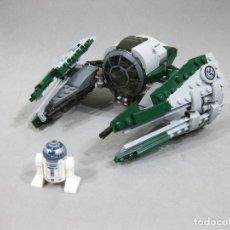 Juegos construcción - Lego: NAVE LEGO 75168 JEDI STARFIGHTER DE YODA CON LA MINIFIGURA DE R2-D2 - STAR WARS. Lote 242856235