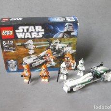 Juegos construcción - Lego: CAJA LEGO DE STAR WARS REF 7913 - CLONE TROOPER BATTLE PACK. Lote 242996430