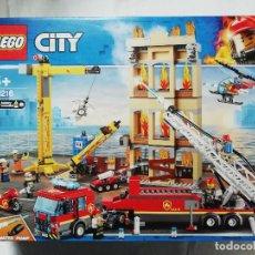 Juegos construcción - Lego: LEGO CITY 60216 BRIGADA DE BOMBEROS DEL DISTRITO CENTRO - NUEVO Y PRECINTADO - A ESTRENAR. Lote 243008760