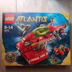 Juegos construcción - Lego: LEGO 8075 ATLANTIS TRANSBORDADOR NEPTUNO 2010 [PRECINTADO]. Lote 243040080