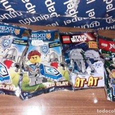 Juegos construcción - Lego: 6 SOBRES SORPRESA LEGO, SIN ABRIR. Lote 243180690