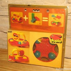 Juegos construcción - Lego: LEGO DUPLO - REF. 2037 - SONAJERO - ANTIGUO BLISTER - AÑO 1983 - NUEVO, SIN USO - A ESTRENAR. Lote 243431775