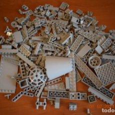 Juegos construcción - Lego: PIEZAS VARIADAS LEGO, GRIS CLARO ,366, 400GR.. Lote 243556570
