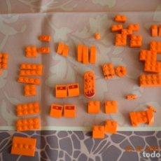 Juegos construcción - Lego: PIEZAS VARIADAS LEGO, NARANJAS. Lote 243787255