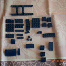 Juegos construcción - Lego: PIEZAS VARIADAS LEGO, AZUL OSCURO USADAS EN BUEN ESTADO. Lote 243867725