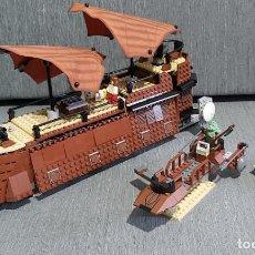 Juegos construcción - Lego: LEGO 6210 EL CARGERO DE JABBA STAR WARS AÑO 2006. Lote 243867750