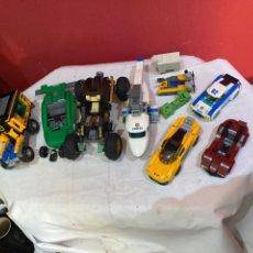 Juegos construcción - Lego: LEGO.LOTE VARIOS VEHÍCULOS LEGO MONTADOS . VER FOTOS. Lote 244187770