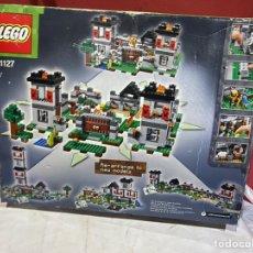 Juegos construcción - Lego: LOTE DE (3.235 KG) LEGO MINECRAFT 21127 LA FORTALEZA .VER FOTOS. Lote 244388725