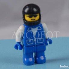 Juegos construcción - Lego: FIGURA LEGO - MECÁNICO CON CASCO - LA DE LAS FOTOS. Lote 244771975