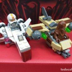 Juegos construcción - Lego: LEGO STAR WARS REF. 75129 CHEWBACCA MÁS NAVE TIPO X-WING. Lote 245442930