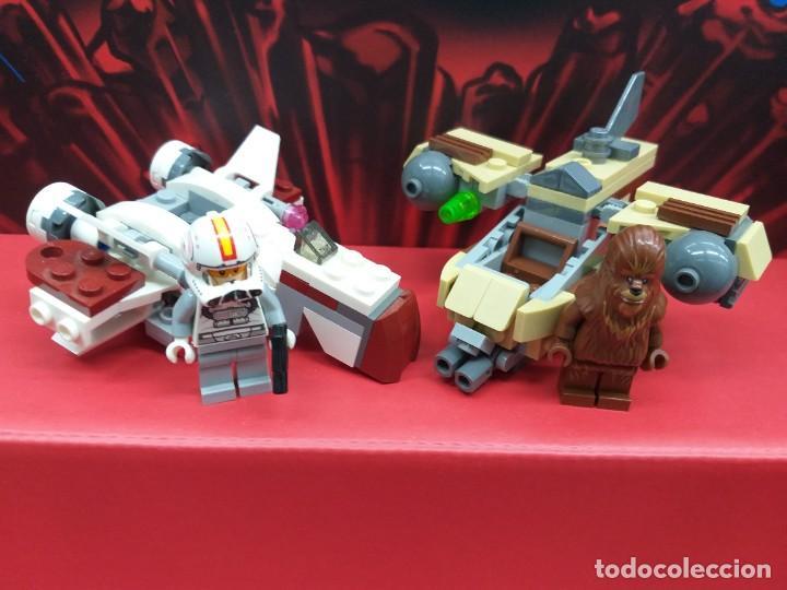 Juegos construcción - Lego: lego star wars ref. 75129 chewbacca más nave tipo x-wing - Foto 2 - 245442930