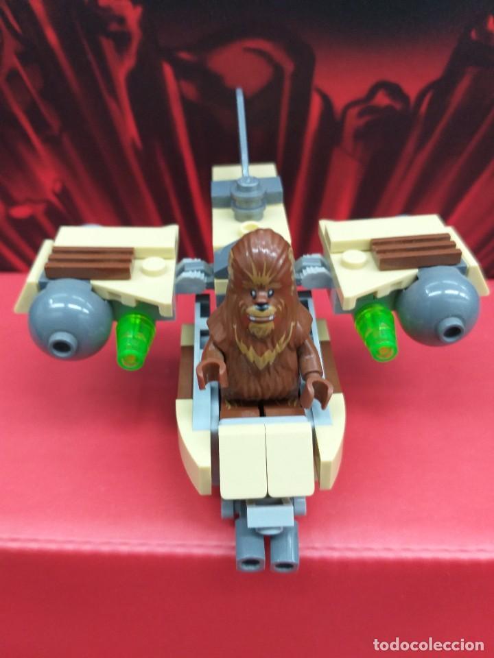 Juegos construcción - Lego: lego star wars ref. 75129 chewbacca más nave tipo x-wing - Foto 5 - 245442930