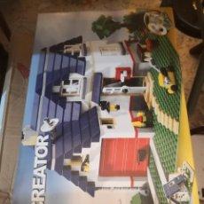 Juegos construcción - Lego: LEGO CREATOR REF. 5891 , CASA CHALET.. CONTIENE 3 CATÁLOGOS.. NO SE SI TIENE TODAS LAS PIEZAS. Lote 245588510