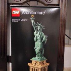 Juegos construcción - Lego: ESTATUA DE LA LIBERTAD 21042 -LEGO ARCHITECTURE- NUEVO, PRECINTADO. Lote 245893645