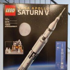 Juegos construcción - Lego: NASA APOLLO SATURN V 92176 -LEGO IDEAS- NUEVO, PRECINTADO. Lote 245897470