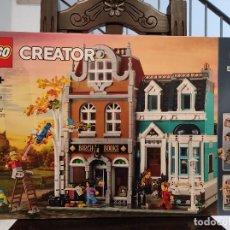 Juegos construcción - Lego: LIBRERÍA 10270 -LEGO CREATOR EXPERT- NUEVO, PRECINTADO. Lote 245897955