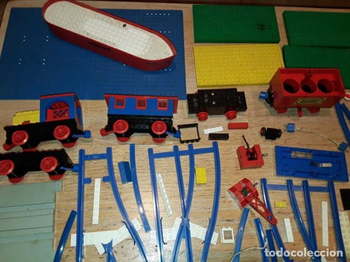Juegos construcción - Lego: Lego años 70 mega lote piezas y catálogos ,tren funcionando, ver todas las fotos. - Foto 2 - 246149290
