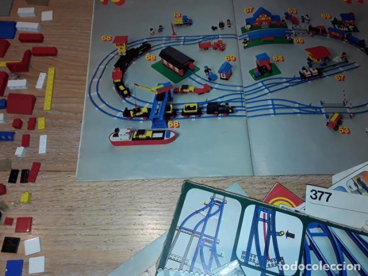 Juegos construcción - Lego: Lego años 70 mega lote piezas y catálogos ,tren funcionando, ver todas las fotos. - Foto 5 - 246149290