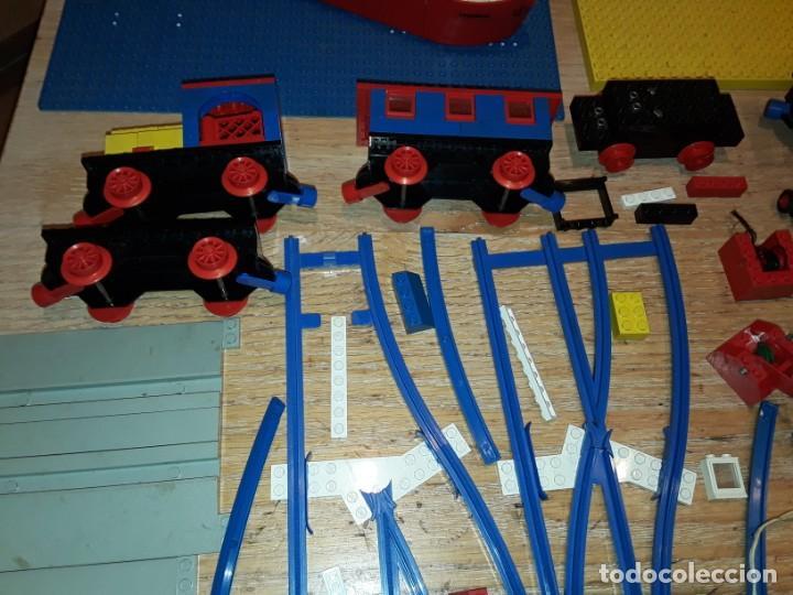 Juegos construcción - Lego: Lego años 70 mega lote piezas y catálogos ,tren funcionando, ver todas las fotos. - Foto 6 - 246149290