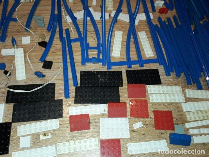 Juegos construcción - Lego: Lego años 70 mega lote piezas y catálogos ,tren funcionando, ver todas las fotos. - Foto 11 - 246149290
