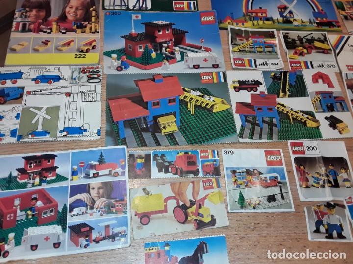 Juegos construcción - Lego: Lego años 70 mega lote piezas y catálogos ,tren funcionando, ver todas las fotos. - Foto 15 - 246149290