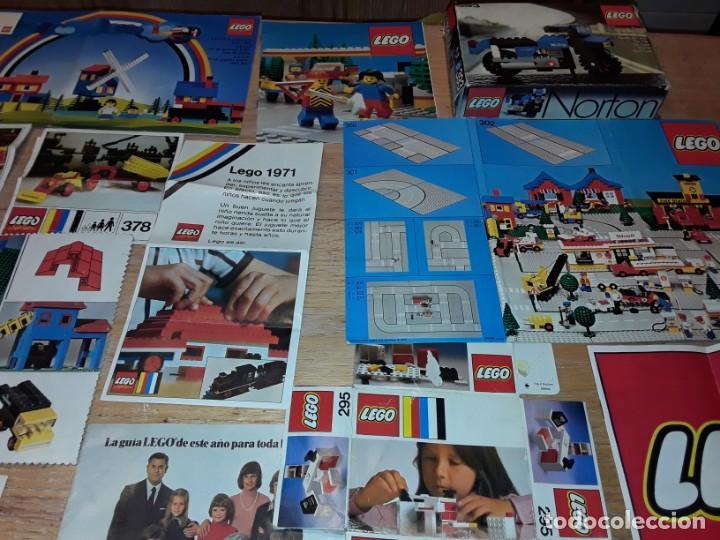 Juegos construcción - Lego: Lego años 70 mega lote piezas y catálogos ,tren funcionando, ver todas las fotos. - Foto 16 - 246149290