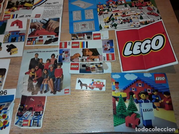 Juegos construcción - Lego: Lego años 70 mega lote piezas y catálogos ,tren funcionando, ver todas las fotos. - Foto 17 - 246149290