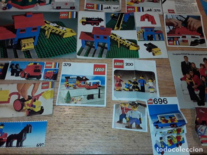 Juegos construcción - Lego: Lego años 70 mega lote piezas y catálogos ,tren funcionando, ver todas las fotos. - Foto 18 - 246149290