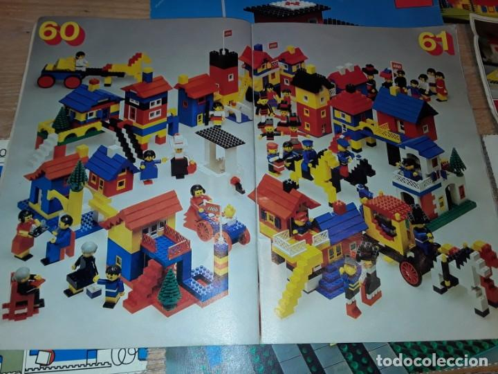 Juegos construcción - Lego: Lego años 70 mega lote piezas y catálogos ,tren funcionando, ver todas las fotos. - Foto 20 - 246149290