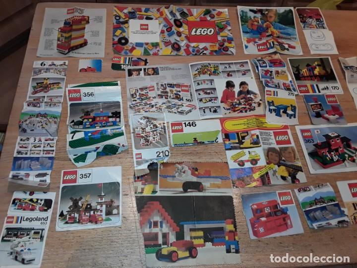 Juegos construcción - Lego: Lego años 70 mega lote piezas y catálogos ,tren funcionando, ver todas las fotos. - Foto 21 - 246149290