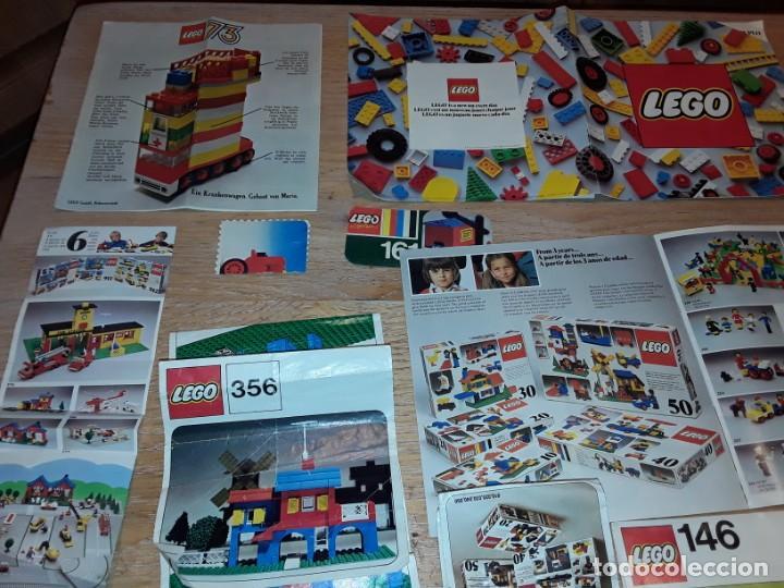 Juegos construcción - Lego: Lego años 70 mega lote piezas y catálogos ,tren funcionando, ver todas las fotos. - Foto 22 - 246149290
