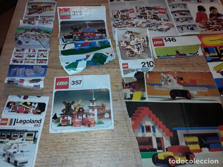 Juegos construcción - Lego: Lego años 70 mega lote piezas y catálogos ,tren funcionando, ver todas las fotos. - Foto 24 - 246149290