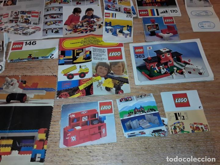 Juegos construcción - Lego: Lego años 70 mega lote piezas y catálogos ,tren funcionando, ver todas las fotos. - Foto 25 - 246149290