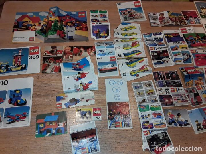 Juegos construcción - Lego: Lego años 70 mega lote piezas y catálogos ,tren funcionando, ver todas las fotos. - Foto 26 - 246149290