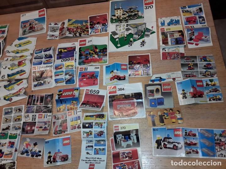 Juegos construcción - Lego: Lego años 70 mega lote piezas y catálogos ,tren funcionando, ver todas las fotos. - Foto 27 - 246149290