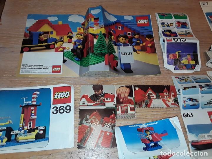 Juegos construcción - Lego: Lego años 70 mega lote piezas y catálogos ,tren funcionando, ver todas las fotos. - Foto 28 - 246149290