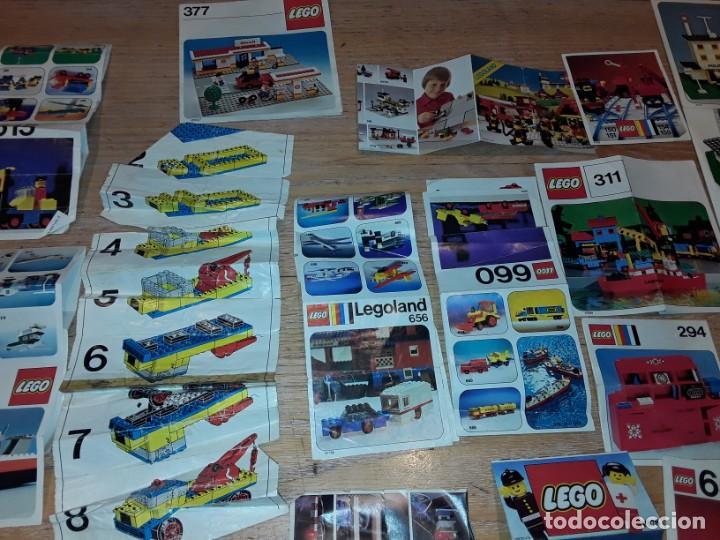 Juegos construcción - Lego: Lego años 70 mega lote piezas y catálogos ,tren funcionando, ver todas las fotos. - Foto 29 - 246149290