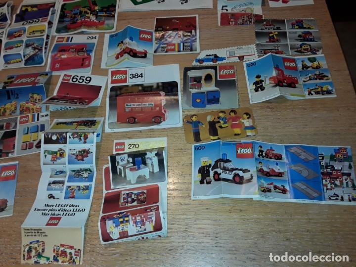 Juegos construcción - Lego: Lego años 70 mega lote piezas y catálogos ,tren funcionando, ver todas las fotos. - Foto 31 - 246149290