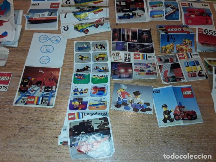 Juegos construcción - Lego: Lego años 70 mega lote piezas y catálogos ,tren funcionando, ver todas las fotos. - Foto 32 - 246149290