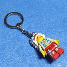Juegos construcción - Lego: LEGO LLAVERO INDIO. Lote 246569690