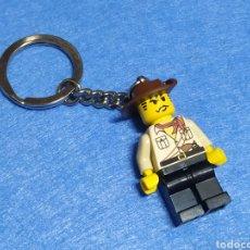 Juegos construcción - Lego: LEGO LLAVERO VAQUERO. Lote 246570225