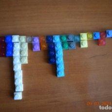 Juegos construcción - Lego: PLACAS 1X1 LEGO REF 3024. Lote 246650470