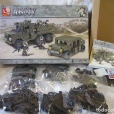 Juegos construcción - Lego: SLUBAN ARMY B0306 (COMPATIBLE CON BLOQUES DE CONSTRUCCION POPULARES). Lote 248247405