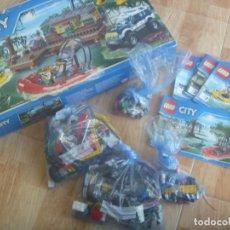 Juegos construcción - Lego: JUEGO ( PIEZAS ) DE CONSTRUCCION DE LEGO : CITY , EN SU CAJA ... ¡ INCOMPLETO !!!!!. Lote 248262525